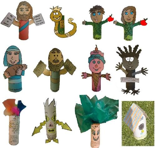 Bible Toilet Paper Roll Crafts
