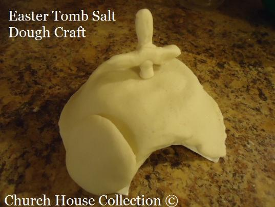 Easter Crafts for Sunday school | Tomb Salt Dough Sunday School Easter Craft For Kids
