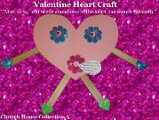 Valentine's Day Heart Craft Matthew 12:34