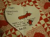 Valentine's Day crafts for Sunday school- Thumbprint Card