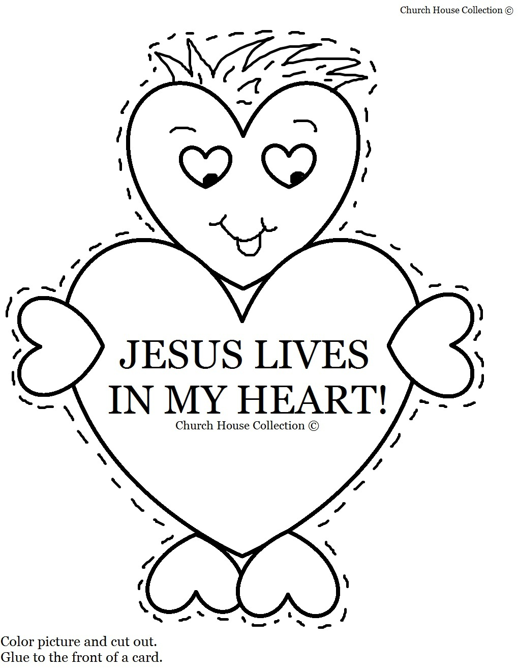 Junior church lessons and crafts - Crafts For Childrens Church Heart Template Printable Template