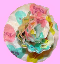 Valentine's Day Crafts for sunday school- Cupcake paper roses