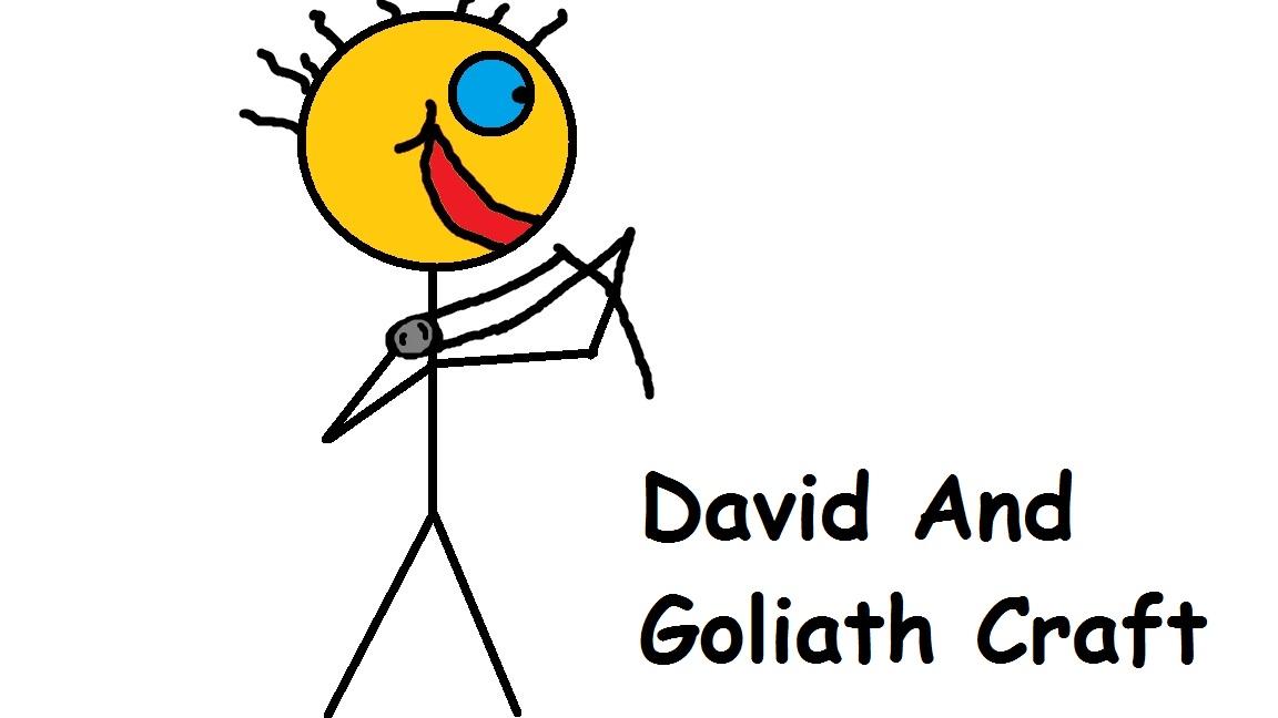 David and goliath craft church house crafts for David and goliath craft