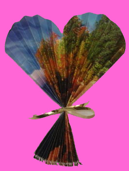 Valentine's Day Crafts for Sunday school- Heart Fan