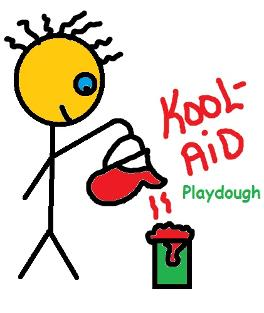 Kool aid playdough recipes