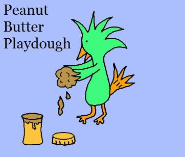 Peanut butter playdough recipe