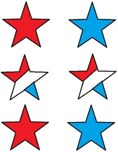 Fourth of July Star Template | Sunday School Crafts For The Fourth Of July | Church House Collection